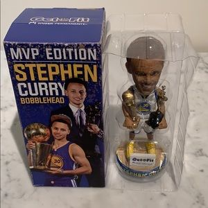 Brand new Stephen Curry Bobblehead (MVP Edition)!!